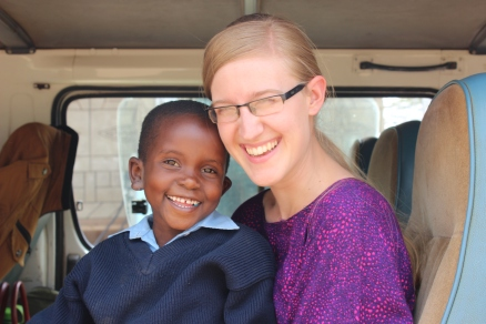Such a joyful girl. God has changed this girls story from despair to hope!
